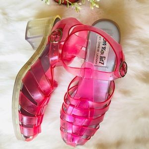 Vintage 90s jelly shoes original size 8
